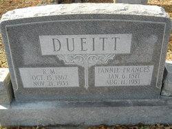 Fannie Frances <i>Murray</i> Dueitt