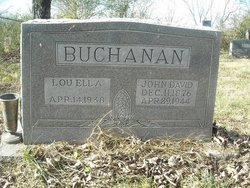 Lou Ella <i>Hunter</i> Buchanan