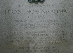 James Frank Hopkins