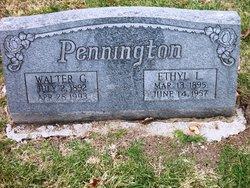 Ethel L. <i>Jones</i> Pennington