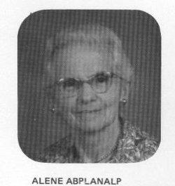Alene Matilda <i>Leuthold</i> Abplanalp