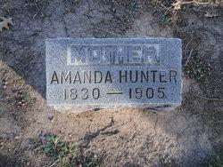 Emeline Amanda <i>Wingard</i> Hunter