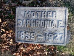 Saphronia Elizabeth <i>Maxwell</i> Adams