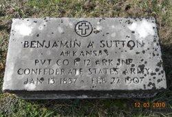 Benjamin A Sutton