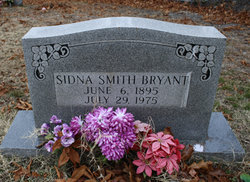Sidna Belle <i>Smith</i> Bryant