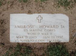 Ambrose Howard, Sr