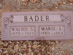 Marie S. <i>Wadsworth</i> Bader