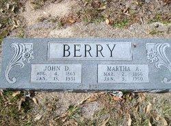 Martha Acynthia <i>Boone</i> Berry