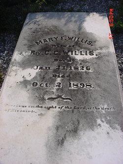 Mary F. <i>Huff</i> Willis