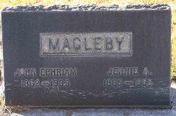 Jane Adam Jennie <i>Warnock</i> Magleby