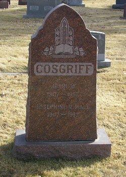 Josephine R <i>Hall</i> Cosgriff
