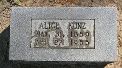 Alice Kunz