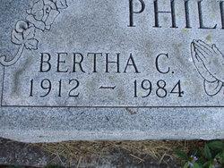 Bertha C. Phillips