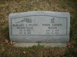 Margaret F Polson Wilson Cline