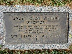 Mary Helen <i>Weddel</i> Sheffer