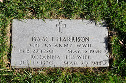 Isaac P Harrison