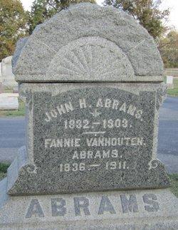 Fannie <i>Vanhouten</i> Abrams