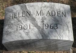 Helen M <i>Lilly</i> Aden