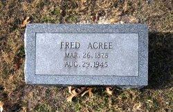 Robert Frederick Fred Acree, Sr