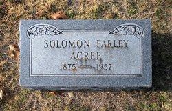 Solomon Farley Acree