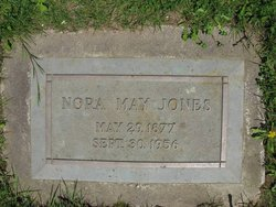 Nora May <i>Purdum</i> Jones