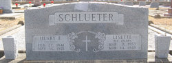 Lisette <i>Jacoby</i> Schlueter