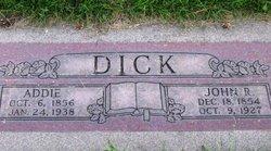 Addie <i>Woodmansee</i> Dick