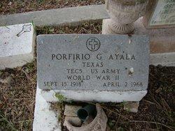 Porfirio G Ayala