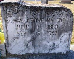 Emma Mae <i>Crowe</i> Malone