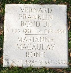 Marianne <i>Macaulay</i> Bond