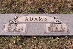 Frank L Adams