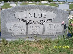 Dorothy Marie <i>Aytes</i> Enloe