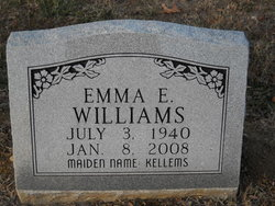 Emma E. <i>Kellems</i> Williams