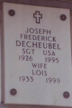 Joseph Frederick Fred deCheubel
