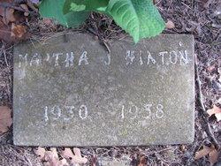 Martha J Hiaton