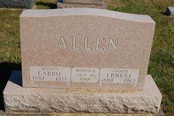 Carrie <i>Cox</i> Allen