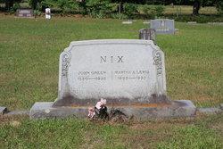 Martha A. <i>Lewis</i> Nix