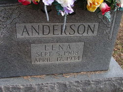 Lena <i>Leftwich</i> Anderson