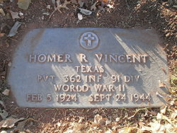Homer Ray Vincent