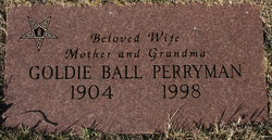 Goldie Irene <i>Ball</i> Perryman