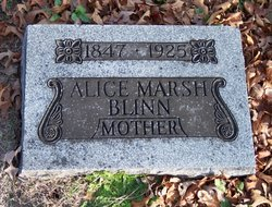Alice <i>Marsh</i> Blinn