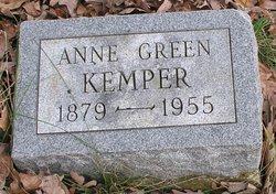 Anne <i>Green</i> Kemper