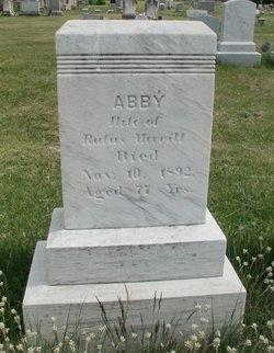 Abagail Abby <i>Jordan</i> Merrill