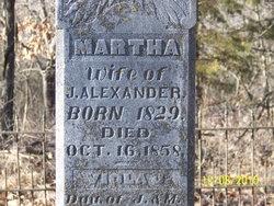 Martha Patsy <i>Rice</i> Alexander