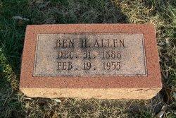 Benjamin H Allen