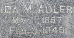 Ida Mae <i>Stewart</i> Adler