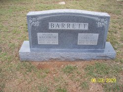 Maggie Mae <i>Marshall</i> Barrett