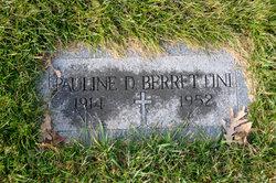 Pauline <i>Saporito</i> Berrettini