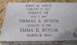 Emma Davis Bynum