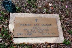 Henry Lee Masur